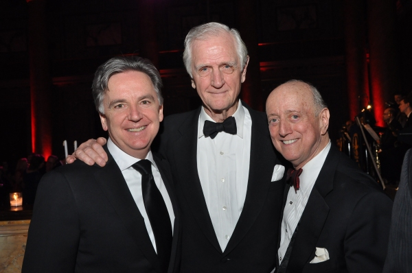 James Houghton, Edgar Lansbury, Acting Company Chairman Emertius and Honoree Earl Weiner