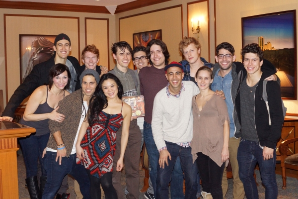 Photo Flash: SPIDER-MAN & OLD MAN AND THE OLD MOON Casts Go on Theatre Field Trips!