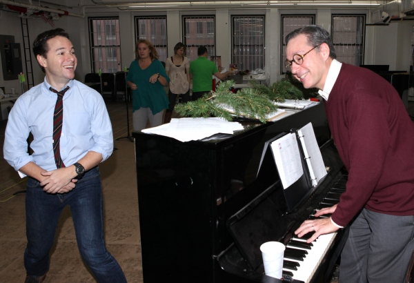 Photo Coverage: Justin Guarini, Lauren Molina, Jill Paice, and More in Rehearsal for IT'S A WONDERFUL LIFE at Bucks County Playhouse