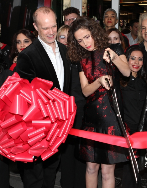 Rose Byrne at Rose Byrne Cuts Ribbon at Sephora Times Square