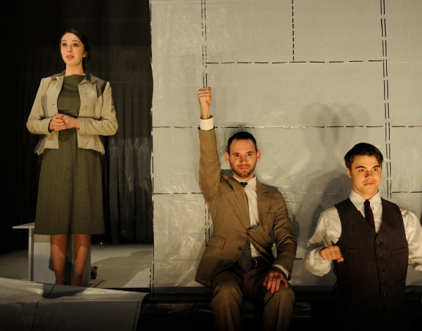 Photo Flash: First Look at Alston Brown, Jaime Rosenstein and More in Trinity Rep's MACHINAL