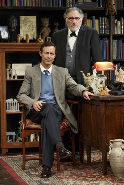 Photo Flash: First Look at Judd Hirsch and Tom Cavanagh in FREUD'S LAST SESSION in Los Angeles