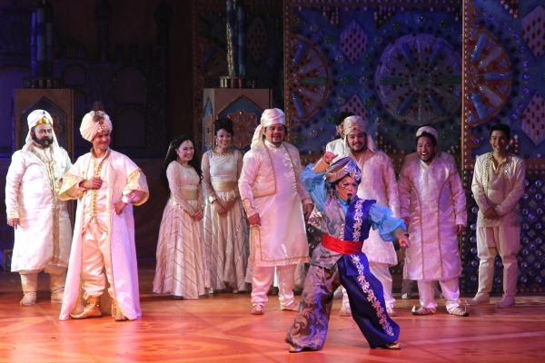 Photo Flash: First Look at Tom Rodriguez, K-La Rivera and More in ALADDIN
