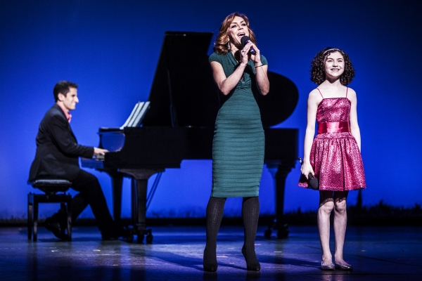 Seth Rudetsky, Andrea McArdle and Lilla Crawford at Inside GYPSY OF THE YEAR 2012!