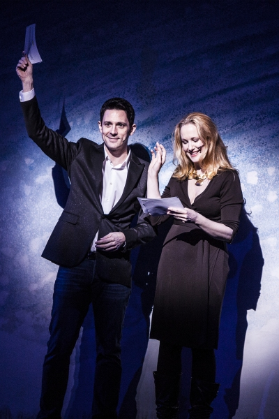 Steve Kazee and Katie Finneran at Inside GYPSY OF THE YEAR 2012!