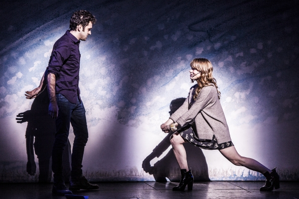 Adam Chandler-Berat and Celia Keenan-Bolger