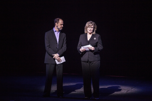 David Hyde Pierce and Debra Monk at Inside GYPSY OF THE YEAR 2012!