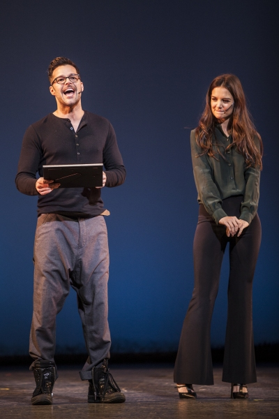 Ricky Martin and Katie Holmes at Inside GYPSY OF THE YEAR 2012!