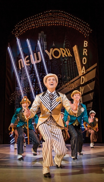 Photo Flash: First Look at Tom Chambers, Charlotte Gooch and More in TOP HAT