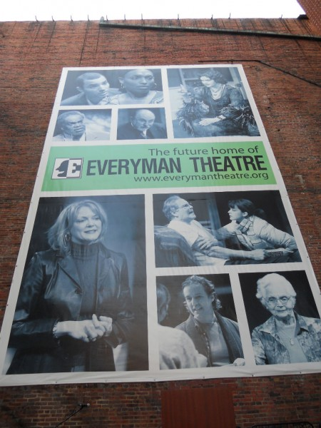 Everyman Theatre Celebrates the Lighting of its Marquee