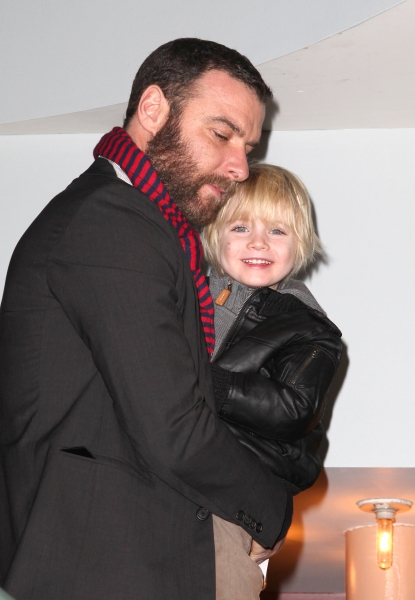Liev Schreiber with Samuel Kai at Sarah Jessica Parker and More at New 42nd Street's 2012 Gala