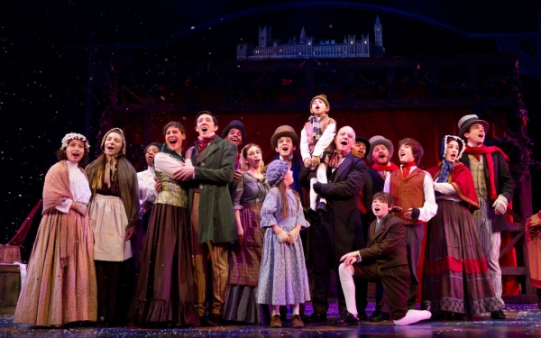 Photo Flash: First Look at Benjamin Lovell and More in Walnut Street's A CHRISTMAS CAROL
