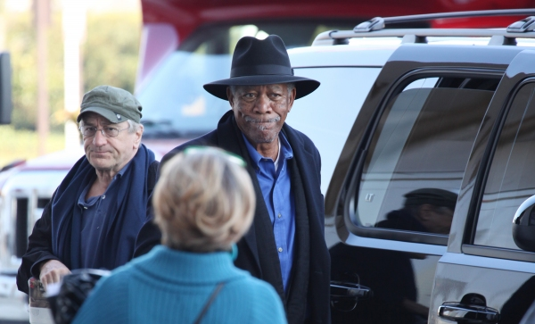 Robert De Niro & Morgan Freeman