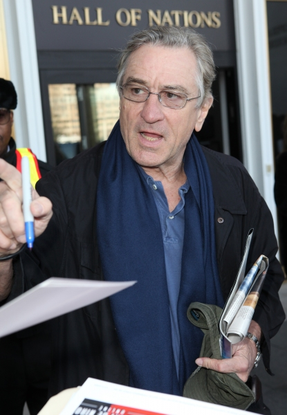 Robert De Niro & Fans  at Photo Coverage Exclusive: At the Stage Door of the 35th Kennedy Center Honors