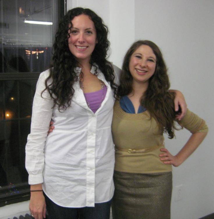 High Res Jane Caplow and Lisa Lewis