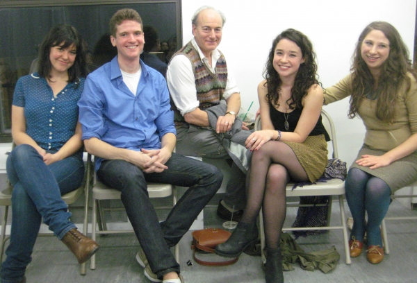Zoë Winters, Harry Zittel, Peter Friedman, Sarah Steele and Lisa Lewis