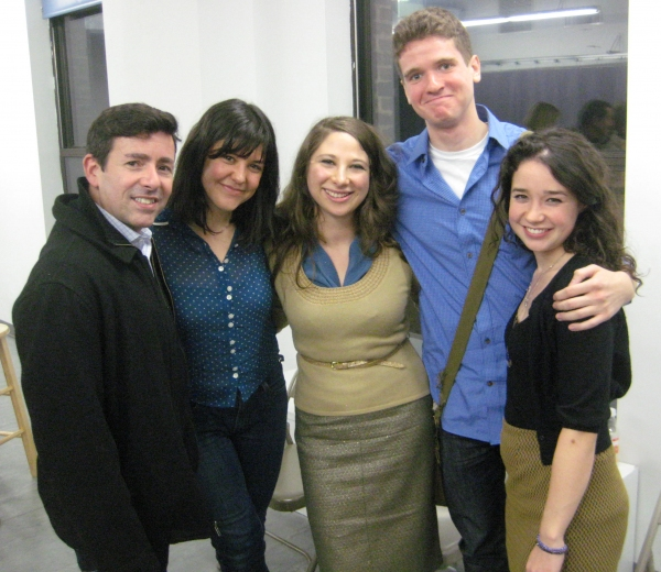 Jules Ochoa, Zoë Winters, Lisa Lewis, Harry Zittel and Sarah Steele