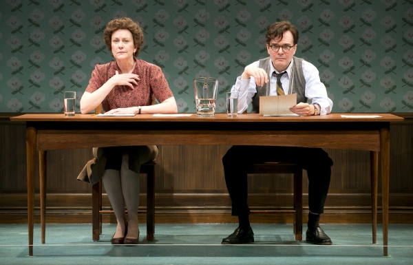 Photo Flash: First Look at Mary Beth Fisher and Jefferson Mays in Sarah Ruhl's DEAR ELIZABETH at Yale Rep