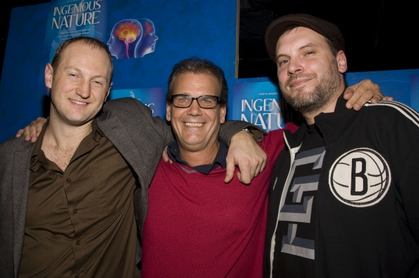 Baba Brinkman, director Darren Lee Cole, Jamie Simmonds