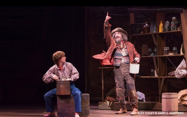 Photo Flash: First Look at Alex Goley, James Monroe Inglehart and More in TheatreWorks' BIG RIVER