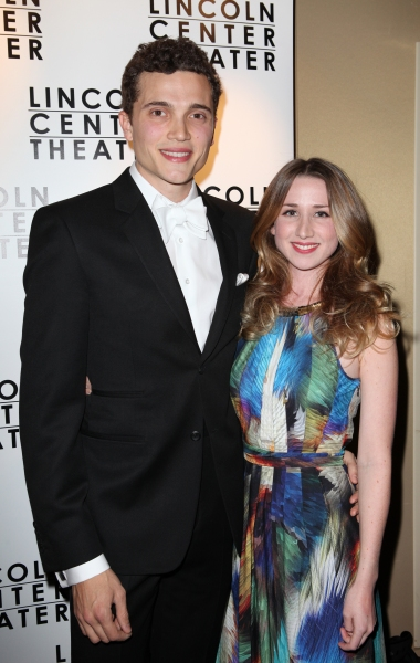 Karl Glusman & girlfriend