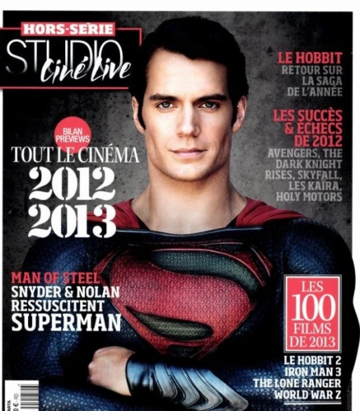 Photo Flash: New Image of Henry Cavill as MAN OF STEEL