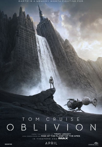 Photo Flash: First Poster for Tom Cruise's OBLIVION Released