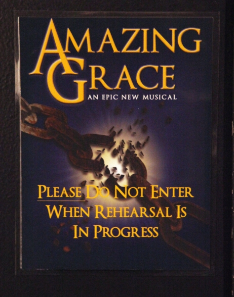 Robby Benson & Josh Young in Rehearsal for 'Amazing Grace - The Epic Musical'