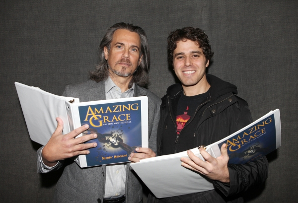 Photo Coverage: In Rehearsal with Josh Young and More for AMAZING GRACE