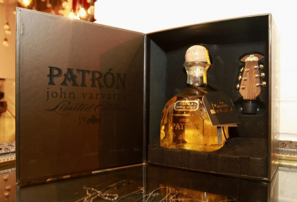 Photo Flash: Patron Anejo and John Varvatos Launch Limited Edition Holiday Bottle at Varvatos' Soho NYC Store