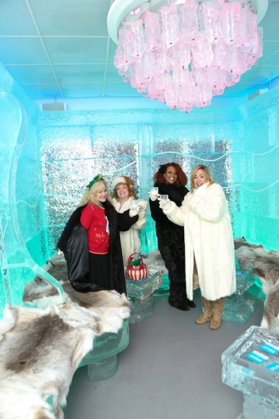 Photo Flash: Carrot Top, Michael Godard and More at Minus5 Ice Bar's Winter Wonderland Experience