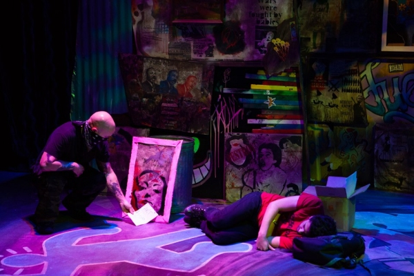 Photo Flash: First Look at Circle Circle dot dot's STREET. ART. PROPHETS.