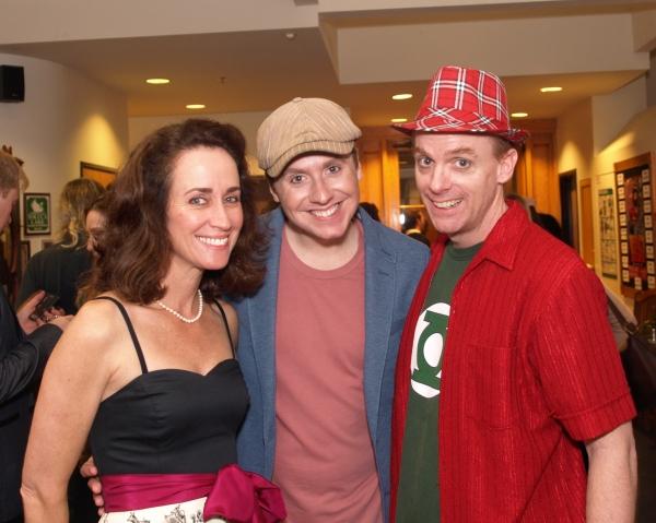 Beth Kennedy, Steven Booth, and Matt Walker Photo