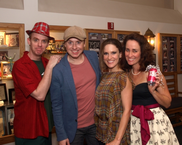 Photo Coverage: Troubadour Theater Opens RUDOLPH THE RED-NOSED REINDOORS at Falcon Theatre