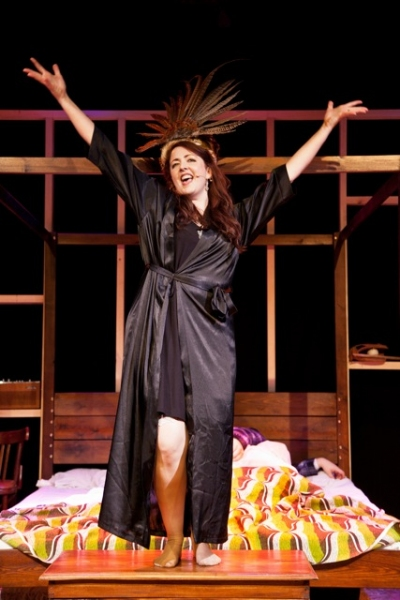 Photo Flash: Lara Bianca Pilcher and Tim Prottey-Jones in I DO! I DO! at Riverside Studios