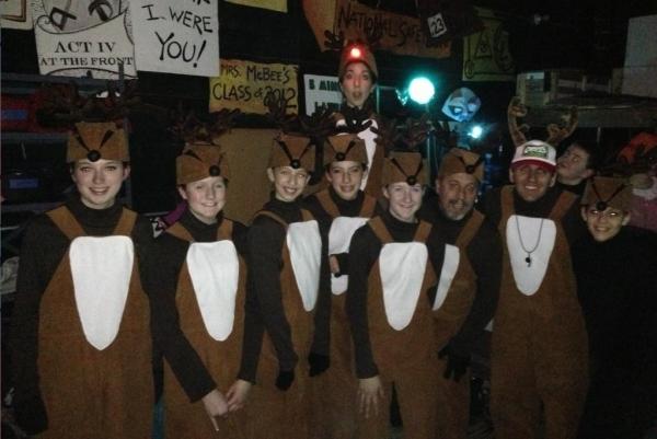 Photo Flash: Saturday Intermission Pics, December 8 - Broadway Does Hanukkah!