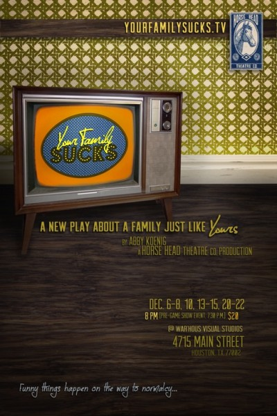 BWW Reviews: YOUR FAMILY SUCKS - A Brilliant and Darkly Humorous Examination of Game Show Culture