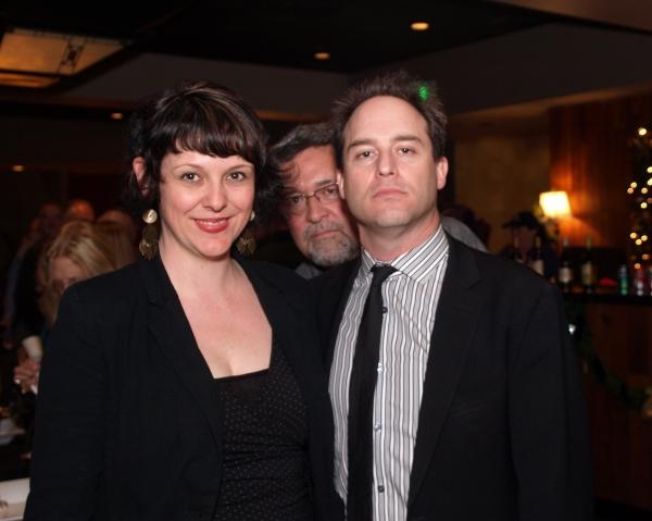 Jane Lynch, John Vaughan, and Brian Kite at McCoy Rigby Entertainment Presents WINTER WONDERETTES Press Opening Night at La Mirada Theatre
