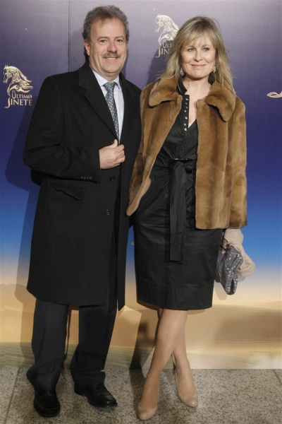 Manuel Campo Vidal y Maria Rey Photo