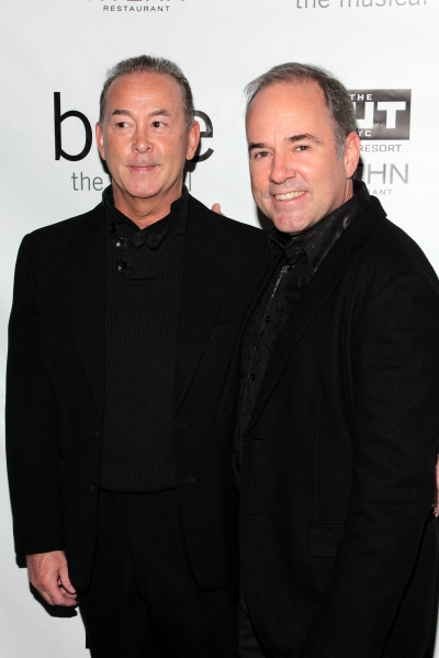 Trevor Hardwick, Stephen Flaherty at Inside Opening Night of BARE- Theatre Arrivals!