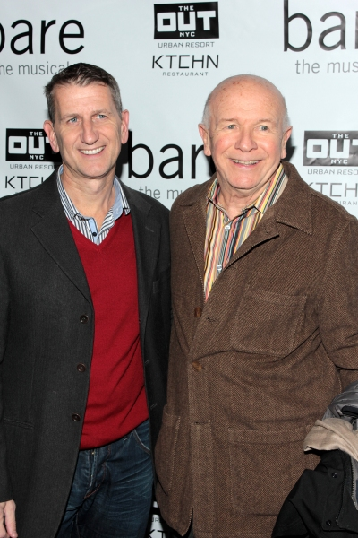 Thomas Kirdahy, Terrence McNally at Inside Opening Night of BARE- Theatre Arrivals!