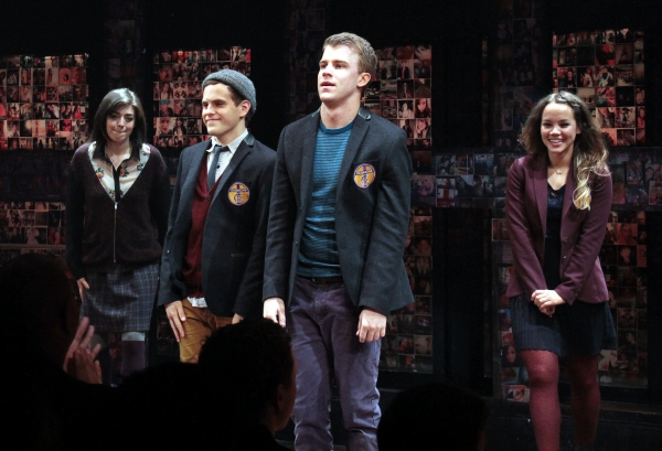 Photo Coverage: Opening Night of BARE at New World Stages - Curtain Call!
