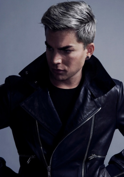 Photo Flash: Adam Lambert Reveals New Look in Magazine Cover Shoot