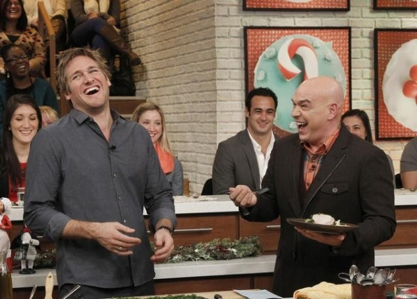 Photo Flash: First Look - Chef Curtis Stone on THE CHEW, Airs 12/12