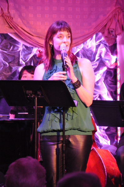 Julia Murney at Norm Lewis, Ann Hampton Callaway and More at MY GIFT OF THANKS Actors Fund Benefit