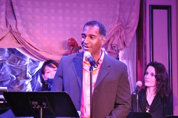 Norm Lewis at Norm Lewis, Ann Hampton Callaway and More at MY GIFT OF THANKS Actors Fund Benefit