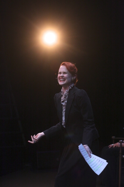 Photo Flash: First Look at Rebecca Ann Johnson and More in Rubicon's LITTLE MISS SCROOGE