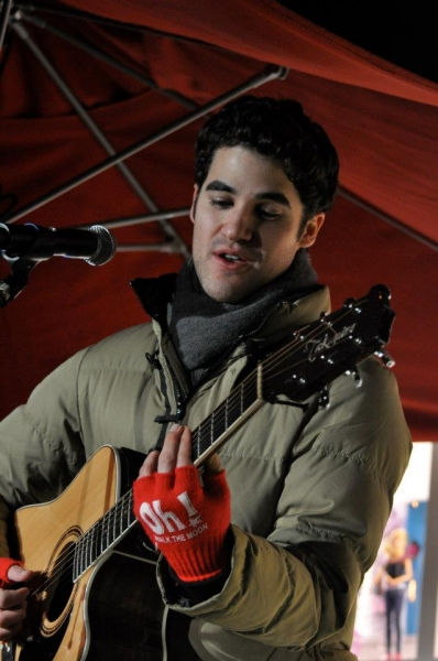 Photos: Darren Criss Churns Out Christmas Songs for eBay's TOYS FOR TOTS