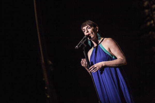 Julia Murney at City of Hope: Broadway Blows Back
