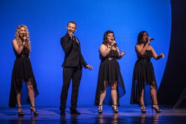 Kelly King, Marty Thomas, Marissa Rosen and Alexa Green at City of Hope: Broadway Blows Back